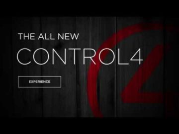 The New Control4 Home Automation Experience - 2015
